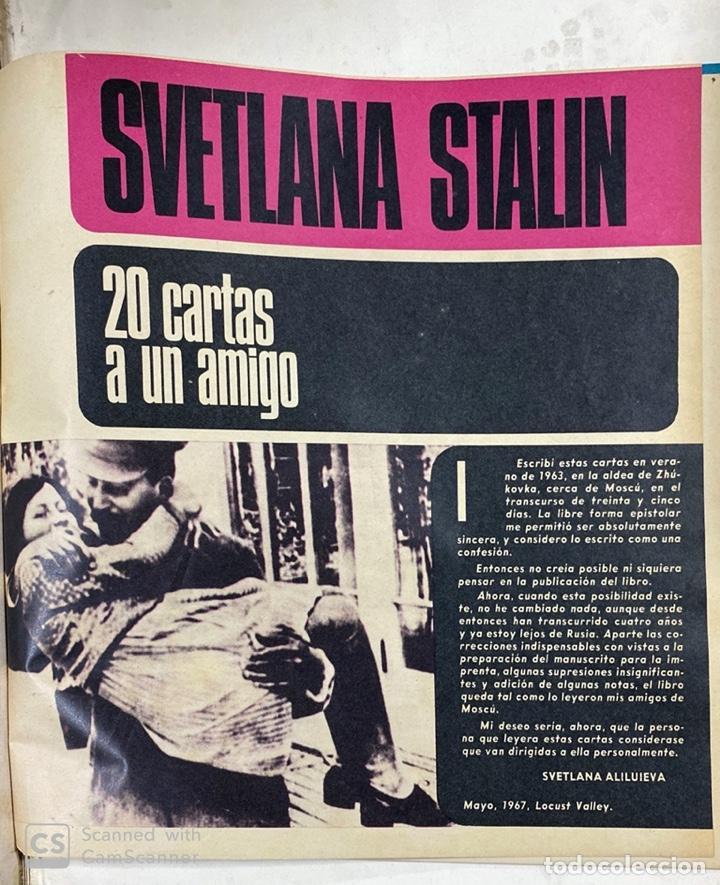 Coleccionismo de Revista Gaceta Ilustrada: LA GACETA ILUSTRADA. LA REVOLUCION RUSA + SVETLANA STALIN 20 CARTAS A UN AMIGO I, II Y III. 1967.VER - Foto 12 - 189249561