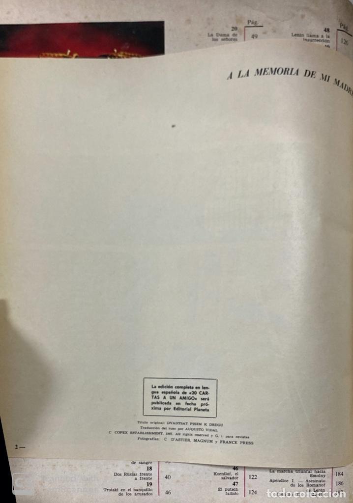 Coleccionismo de Revista Gaceta Ilustrada: LA GACETA ILUSTRADA. LA REVOLUCION RUSA + SVETLANA STALIN 20 CARTAS A UN AMIGO I, II Y III. 1967.VER - Foto 13 - 189249561