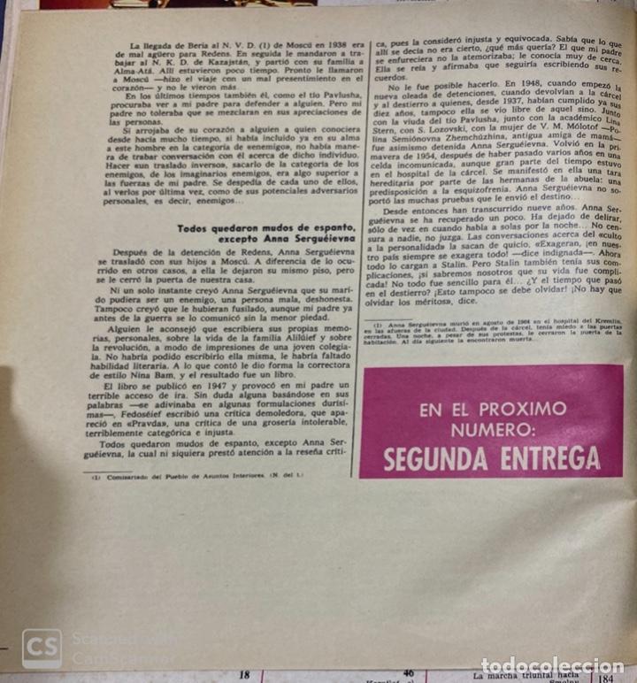 Coleccionismo de Revista Gaceta Ilustrada: LA GACETA ILUSTRADA. LA REVOLUCION RUSA + SVETLANA STALIN 20 CARTAS A UN AMIGO I, II Y III. 1967.VER - Foto 16 - 189249561