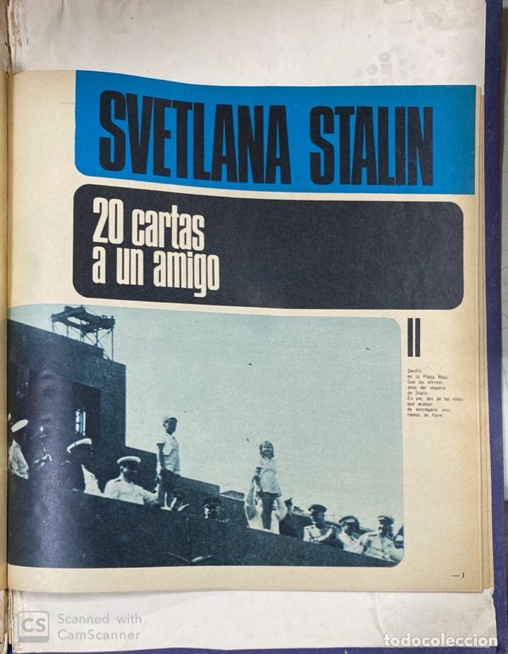 Coleccionismo de Revista Gaceta Ilustrada: LA GACETA ILUSTRADA. LA REVOLUCION RUSA + SVETLANA STALIN 20 CARTAS A UN AMIGO I, II Y III. 1967.VER - Foto 17 - 189249561