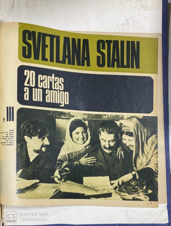 Coleccionismo de Revista Gaceta Ilustrada: LA GACETA ILUSTRADA. LA REVOLUCION RUSA + SVETLANA STALIN 20 CARTAS A UN AMIGO I, II Y III. 1967.VER - Foto 19 - 189249561