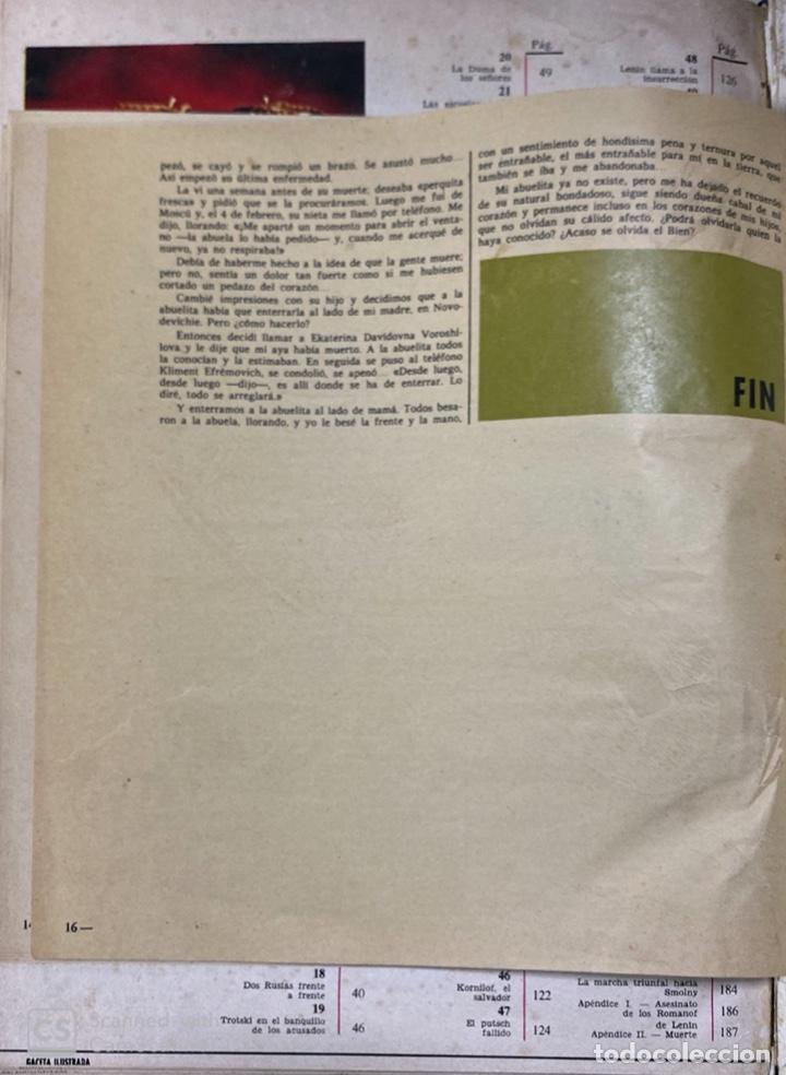 Coleccionismo de Revista Gaceta Ilustrada: LA GACETA ILUSTRADA. LA REVOLUCION RUSA + SVETLANA STALIN 20 CARTAS A UN AMIGO I, II Y III. 1967.VER - Foto 21 - 189249561