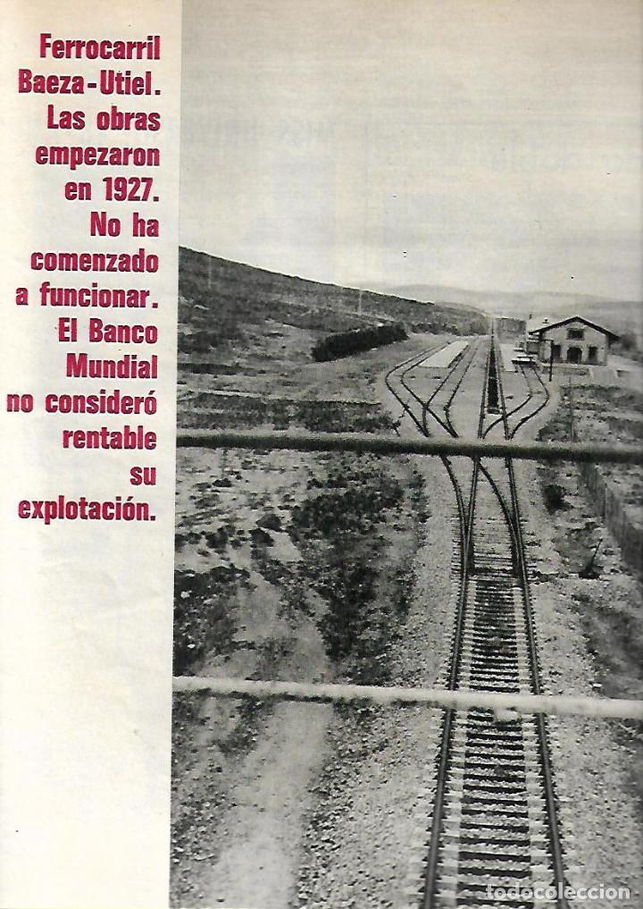 1971 TREN BAEZA UTIEL NIÑO BUDISTA ZEN JACKIE STEWART FORMULA 1 PINTURA ANTONIO MARIA BLANCO BALI (Coleccionismo - Revistas y Periódicos Modernos (a partir de 1.940) - Revista Gaceta Ilustrada)
