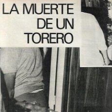 Coleccionismo de Revista Gaceta Ilustrada: AÑO 1971 MUERTE TORERO JOSE MATA DOLORES HURT MONJA MUSICA JOHNNY SYLVIE BOXEO GITANO JIMENEZ PERICH. Lote 189372546