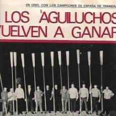 Coleccionismo de Revista Gaceta Ilustrada: AÑO 1971 INUNDACIONES EN CATALUÑA SANTACADA MARTORELL CORNELLA ORIO AGUILUCHOS TRAINERAS STEINER . Lote 190178030