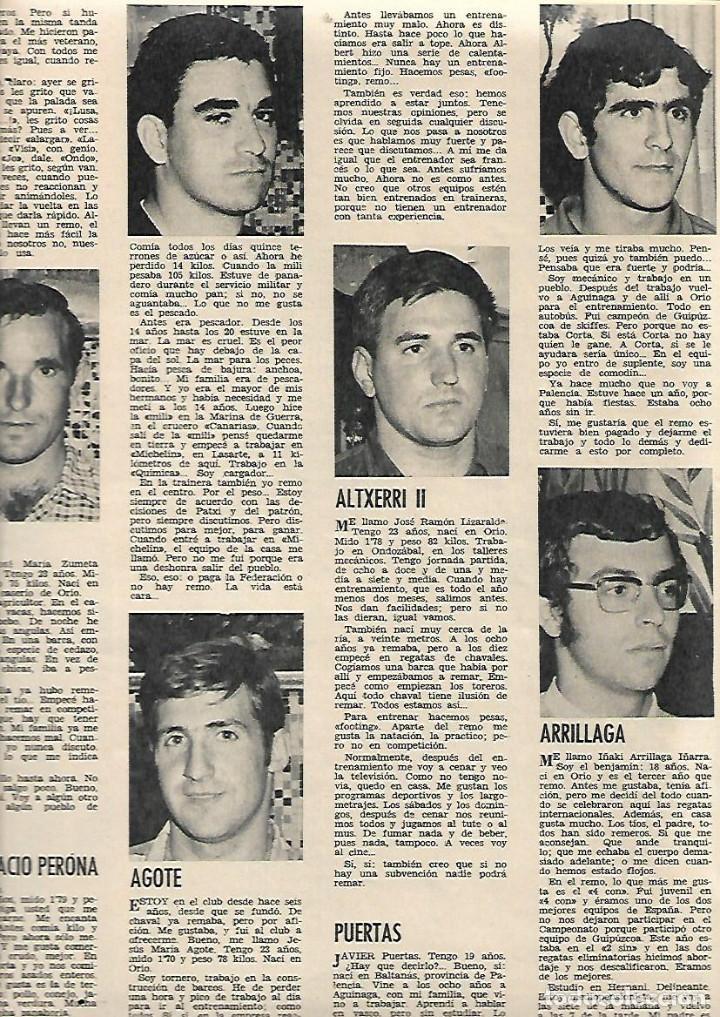 Coleccionismo de Revista Gaceta Ilustrada: AÑO 1971 INUNDACIONES EN CATALUÑA SANTACADA MARTORELL CORNELLA ORIO AGUILUCHOS TRAINERAS STEINER - Foto 2 - 190178030
