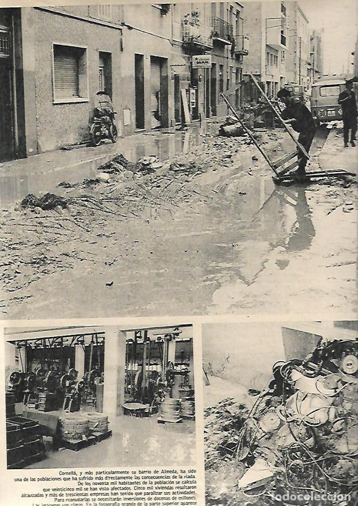 Coleccionismo de Revista Gaceta Ilustrada: AÑO 1971 INUNDACIONES EN CATALUÑA SANTACADA MARTORELL CORNELLA ORIO AGUILUCHOS TRAINERAS STEINER - Foto 4 - 190178030