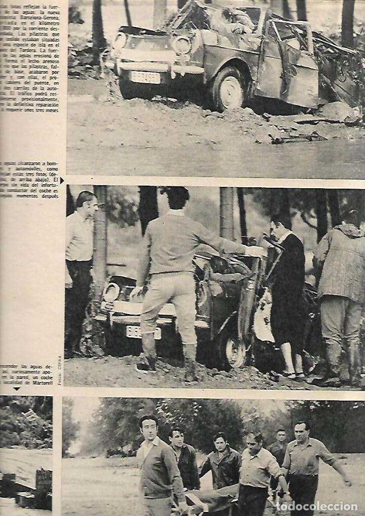 Coleccionismo de Revista Gaceta Ilustrada: AÑO 1971 INUNDACIONES EN CATALUÑA SANTACADA MARTORELL CORNELLA ORIO AGUILUCHOS TRAINERAS STEINER - Foto 5 - 190178030