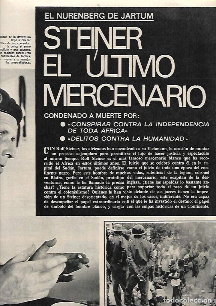 Coleccionismo de Revista Gaceta Ilustrada: AÑO 1971 INUNDACIONES EN CATALUÑA SANTACADA MARTORELL CORNELLA ORIO AGUILUCHOS TRAINERAS STEINER - Foto 6 - 190178030