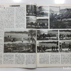 Coleccionismo de Revista Gaceta Ilustrada: GACETA ILUSTRADA 1976 LOS CARLISTAS SE LÍAN A TIROS. (SUCESOS MONTEJURRA CARLISMO CARLISTA). Lote 192456086