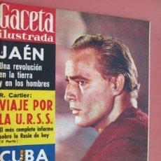 Coleccionismo de Revista Gaceta Ilustrada: GACETA ILUSTRADA REVISTA Nº 238 -29-04 1961 - JAEN UNA REVOLUCION - MARLON BRANDO PORTADA . Lote 193444251