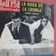Coleccionismo de Revista Gaceta Ilustrada: GACETA ILUSTRADA REVISTA Nº 234 -01-04-1961- LA BODA DE LA CHUNGA - SAHARA LOS PIRATAS DEL DESIERTO . Lote 193639308