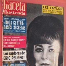 Coleccionismo de Revista Gaceta Ilustrada: GACETA ILUSTRADA REVISTA Nº 232 -18-03-1961 - LIZ TAYLOR - UNA VIDA ATORMENTADA - ERIC PEUGEOT . Lote 193639792