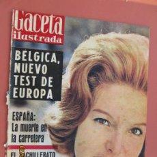 Coleccionismo de Revista Gaceta Ilustrada: GACETA ILUSTRADA REVISTA Nº 225- 28-01-1961- BEATRIZ LODGE- BELGICA NUEVO TEST DE EUROPA . Lote 193641906
