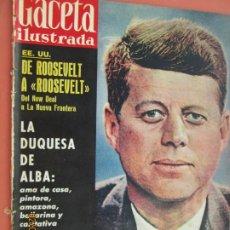 Coleccionismo de Revista Gaceta Ilustrada: GACETA ILUSTRADA REVISTA Nº 224- 21-01-1961- LA DUQUESA DE ALBA - LA BODA DE MARIA VICTORIA . Lote 193642405