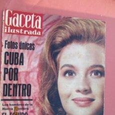 Coleccionismo de Revista Gaceta Ilustrada: GACETA ILUSTRADA REVISTA Nº 223 14-01-1961 - CUBA POR DENTRO - PORTADA ANGIE DICKINSON. Lote 193642788