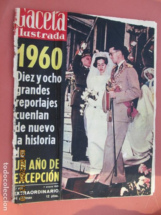 GACETA ILUSTRADA REVISTA Nº 222 - 07-01-1961- 1960 UN AÑO DE EXCEPCION 18 REPORTAJES (Coleccionismo - Revistas y Periódicos Modernos (a partir de 1.940) - Revista Gaceta Ilustrada)