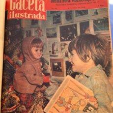 Coleccionismo de Revista Gaceta Ilustrada: TODO EL AÑO 1958 DE LA GACETA ILUSTRADA. Lote 235698065