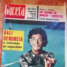 Coleccionismo de Revista Gaceta Ilustrada: ANTIGUA REVISTA GACETA ILUSTRADA Nº 414 12 SEPTIEMBRE 1964 SALVADOR DALÍ. Lote 197995695