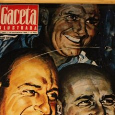 Collectionnisme de Magazine Gaceta Ilustrada: GACETA ILUSTRADA 685 AÑO 1969 / COCO CHANEL APOLO MISA DALI NO NACIDOS SINGERMAN GUILARTE. Lote 198251786