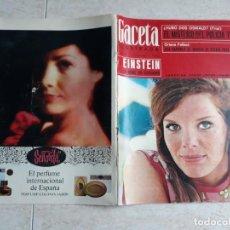 Coleccionismo de Revista Gaceta Ilustrada: GACETA ILUSTRADA 456 AÑO 1965 .LA LOLLO, LUIS MIGUEL.ETC... Lote 198733893