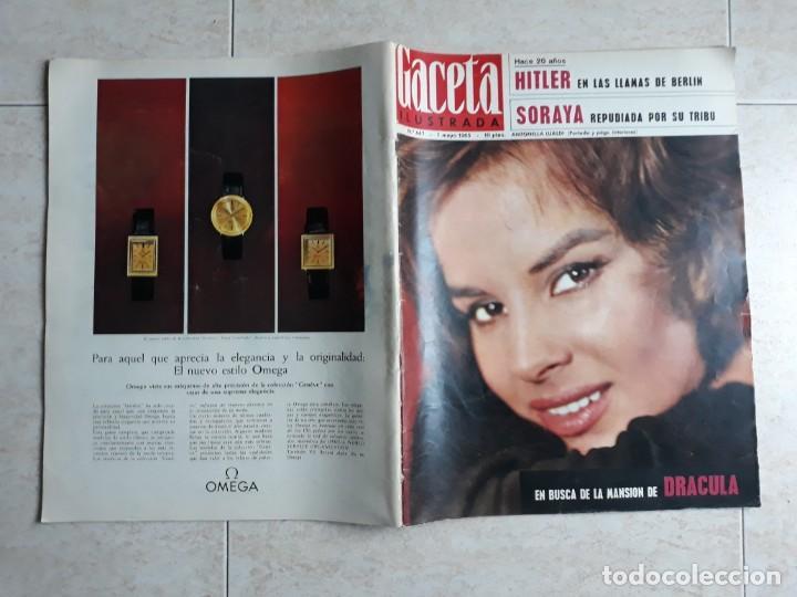 GACETA ILUSTRADA 447 AÑO 1965 .SORAYA,HITLER, ANTONELLA.ETC.. (Coleccionismo - Revistas y Periódicos Modernos (a partir de 1.940) - Revista Gaceta Ilustrada)
