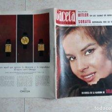Coleccionismo de Revista Gaceta Ilustrada: GACETA ILUSTRADA 447 AÑO 1965 .SORAYA,HITLER, ANTONELLA.ETC... Lote 198734116