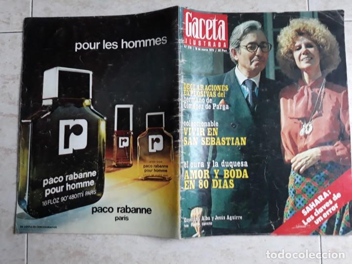 GACETA ILUSTRADA 1.119 AÑO 1978.BODA DE LA DUQUESA .ETC.. (Coleccionismo - Revistas y Periódicos Modernos (a partir de 1.940) - Revista Gaceta Ilustrada)