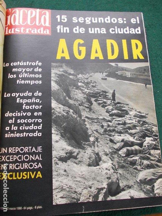 Coleccionismo de Revista Gaceta Ilustrada: LOTE REVISTAS GACETA ILUSTRADA 26 REVISTAS ENCUADERNADAS ENERO -JUNIO DE 1960 - Foto 17 - 201849757
