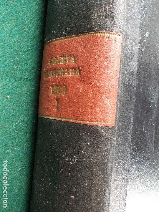 Coleccionismo de Revista Gaceta Ilustrada: LOTE REVISTAS GACETA ILUSTRADA 26 REVISTAS ENCUADERNADAS ENERO -JUNIO DE 1960 - Foto 27 - 201849757