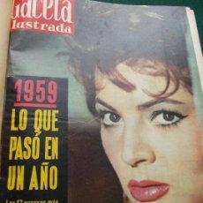 Coleccionismo de Revista Gaceta Ilustrada: LOTE REVISTAS GACETA ILUSTRADA 26 REVISTAS ENCUADERNADAS ENERO -JUNIO DE 1960. Lote 201849757