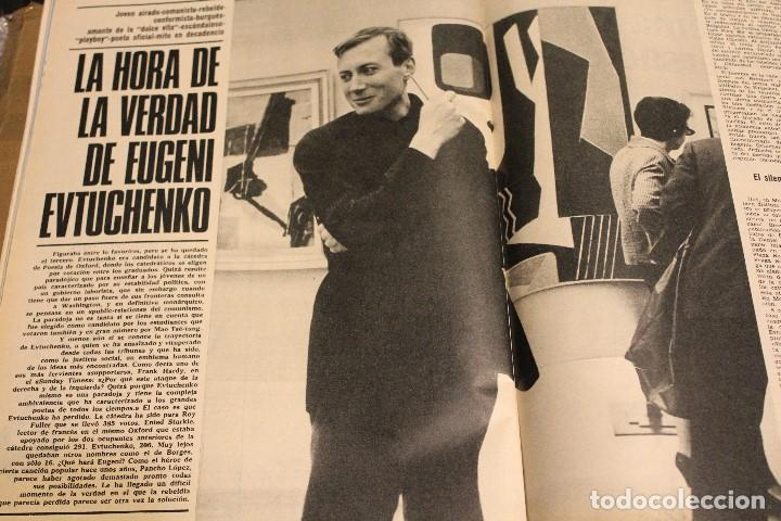 Coleccionismo de Revista Gaceta Ilustrada: GACETA ILUSTRADA 636 AÑO 1968 MASPALOMAS NUCLEAR CORAZON CHINCHERO EVTUCHENKO KRUPP PARIS JUAN XXIII - Foto 5 - 201862996
