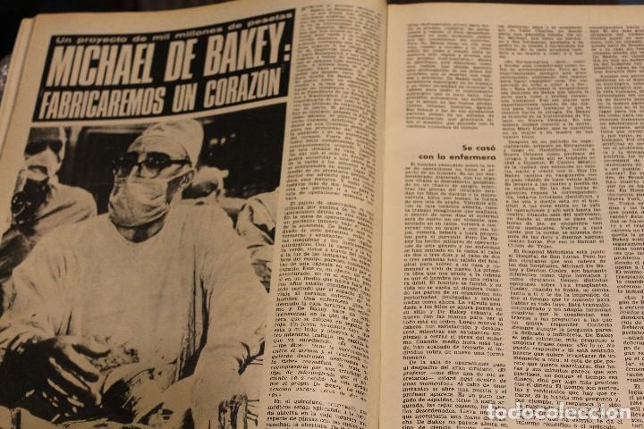 Coleccionismo de Revista Gaceta Ilustrada: GACETA ILUSTRADA 636 AÑO 1968 MASPALOMAS NUCLEAR CORAZON CHINCHERO EVTUCHENKO KRUPP PARIS JUAN XXIII - Foto 11 - 201862996