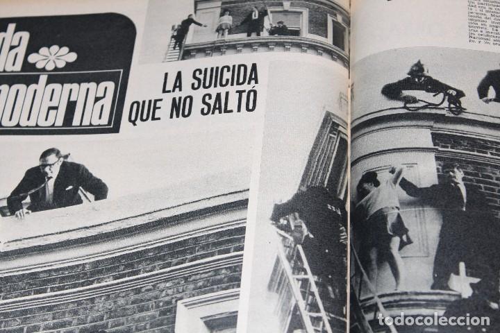 Coleccionismo de Revista Gaceta Ilustrada: GACETA ILUSTRADA 601 AÑO 1968 MARTIN LUTER MASSIEL JESUCRISTO JOHNSON URSS HONG KONG SUICIDIO - Foto 7 - 201893257