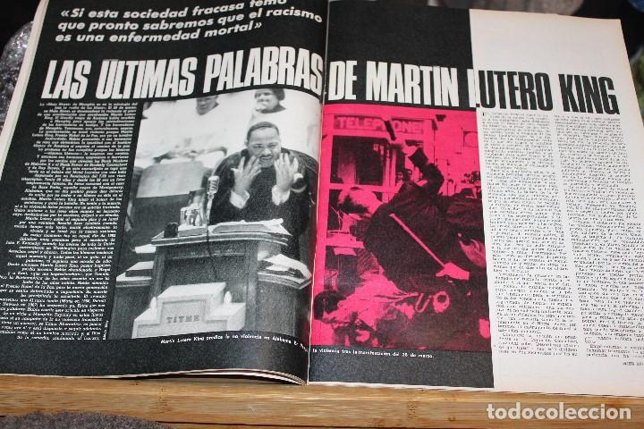 Coleccionismo de Revista Gaceta Ilustrada: GACETA ILUSTRADA 601 AÑO 1968 MARTIN LUTER MASSIEL JESUCRISTO JOHNSON URSS HONG KONG SUICIDIO - Foto 4 - 201893257