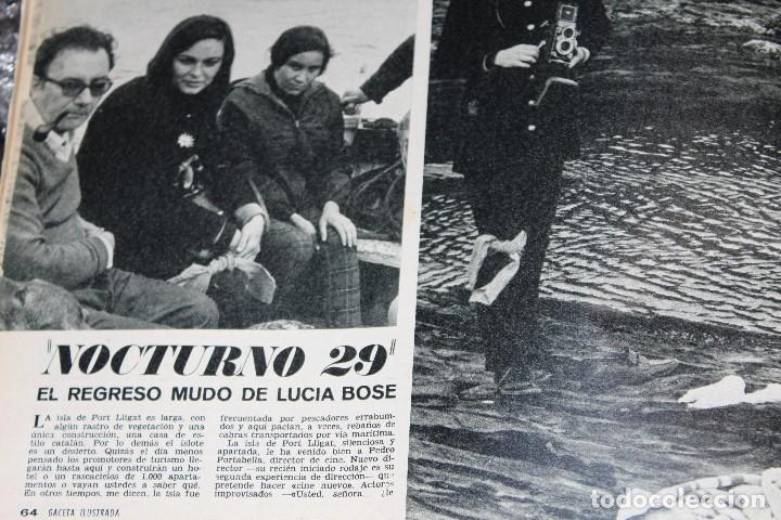 Coleccionismo de Revista Gaceta Ilustrada: GACETA ILUSTRADA 600 AÑO 1968 GAGARIN EWA AULIN CORAZON MUJER BEDUINOS BOSE DUNAWAY - Foto 7 - 201896041