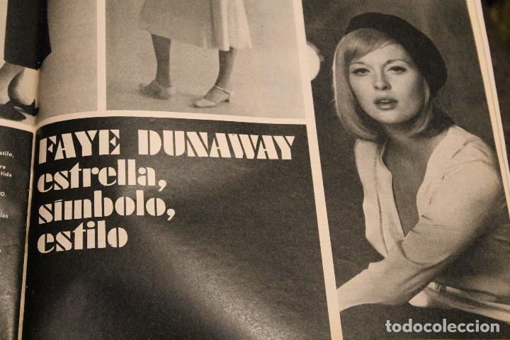 Coleccionismo de Revista Gaceta Ilustrada: GACETA ILUSTRADA 600 AÑO 1968 GAGARIN EWA AULIN CORAZON MUJER BEDUINOS BOSE DUNAWAY - Foto 8 - 201896041
