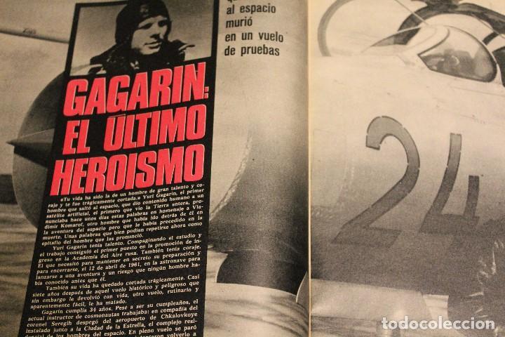 Coleccionismo de Revista Gaceta Ilustrada: GACETA ILUSTRADA 600 AÑO 1968 GAGARIN EWA AULIN CORAZON MUJER BEDUINOS BOSE DUNAWAY - Foto 3 - 201896041