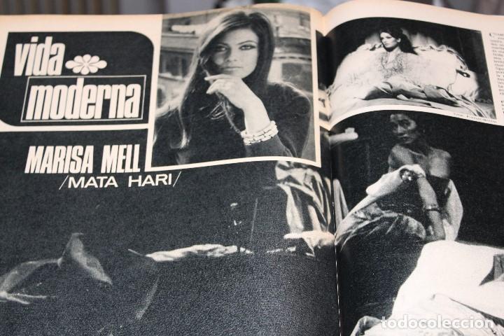 Coleccionismo de Revista Gaceta Ilustrada: GACETA ILUSTRADA 603 AÑO 1968 LUTER KING AUTOMOVIL GIBRALTAR COSMONAUTA MELL VIETNAM CEREBRO FAGOR - Foto 7 - 201897596