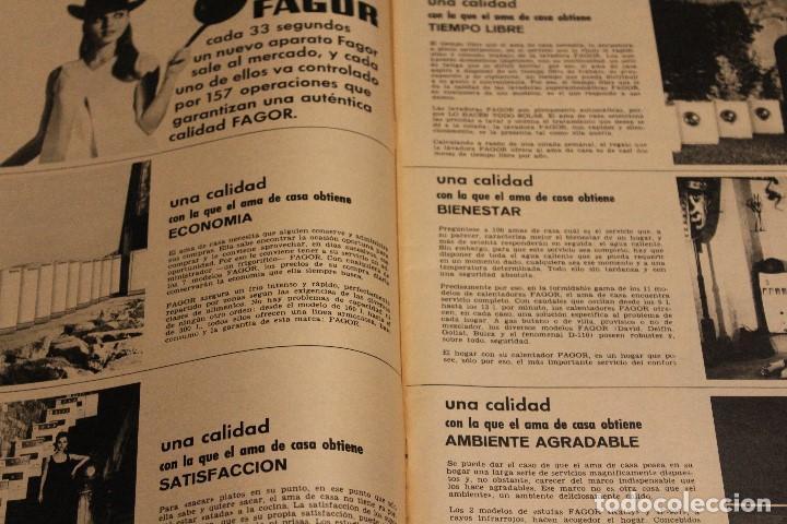 Coleccionismo de Revista Gaceta Ilustrada: GACETA ILUSTRADA 603 AÑO 1968 LUTER KING AUTOMOVIL GIBRALTAR COSMONAUTA MELL VIETNAM CEREBRO FAGOR - Foto 12 - 201897596