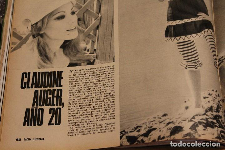 Coleccionismo de Revista Gaceta Ilustrada: GACETA ILUSTRADA 604 AÑO 1968 ELEFANTE VIETNAM ORENSE BISSET SENSORIAL AUGER MAFIA OBESO POLUCION - Foto 7 - 201899592