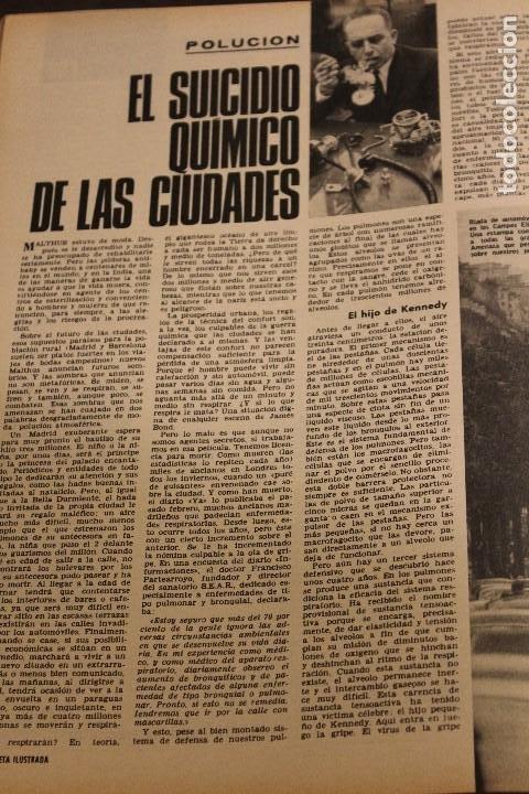 Coleccionismo de Revista Gaceta Ilustrada: GACETA ILUSTRADA 604 AÑO 1968 ELEFANTE VIETNAM ORENSE BISSET SENSORIAL AUGER MAFIA OBESO POLUCION - Foto 9 - 201899592