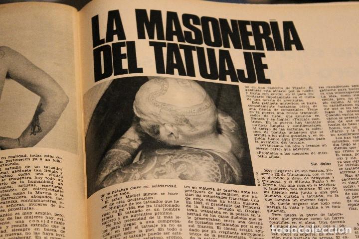 Coleccionismo de Revista Gaceta Ilustrada: GACETA ILUSTRADA 606 AÑO 1968 PARIS MURCIELAGOS HEPBURN ELEFANTES COMUNISTAS DAYAN LINDSAY AVION - Foto 9 - 201901515