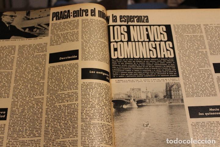 Coleccionismo de Revista Gaceta Ilustrada: GACETA ILUSTRADA 606 AÑO 1968 PARIS MURCIELAGOS HEPBURN ELEFANTES COMUNISTAS DAYAN LINDSAY AVION - Foto 12 - 201901515