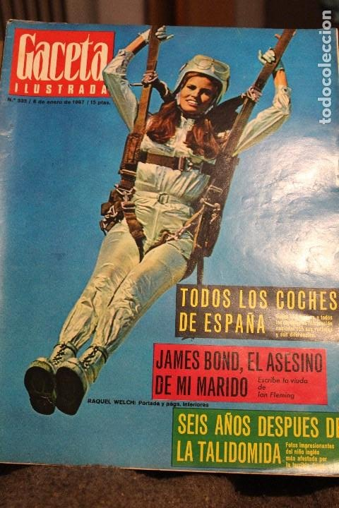 Coleccionismo de Revista Gaceta Ilustrada: GACETA ILUSTRADA 535 AÑO 1967 TALIDOMIDA JAMES BOND FLEMING COCHES CHINA ANDREWS BEATNIKS FUGAS - Foto 1 - 202097532