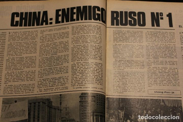 Coleccionismo de Revista Gaceta Ilustrada: GACETA ILUSTRADA 535 AÑO 1967 TALIDOMIDA JAMES BOND FLEMING COCHES CHINA ANDREWS BEATNIKS FUGAS - Foto 11 - 202097532