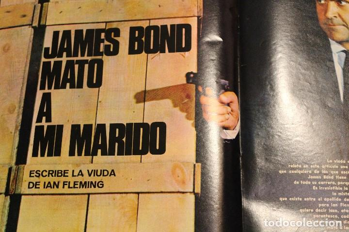 Coleccionismo de Revista Gaceta Ilustrada: GACETA ILUSTRADA 535 AÑO 1967 TALIDOMIDA JAMES BOND FLEMING COCHES CHINA ANDREWS BEATNIKS FUGAS - Foto 5 - 202097532