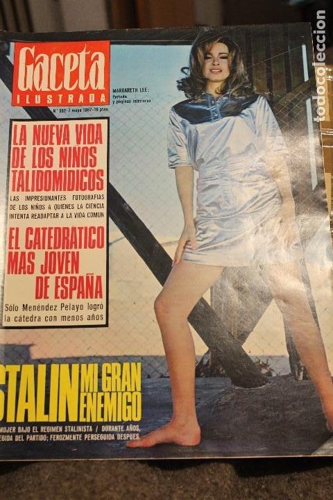 GACETA ILUSTRADA 552 AÑO 1967 STALIN TALIDOMIDA LEE PAOLI CANCER ESPIA ESCOMBRERAS PETROLEO AUTO (Coleccionismo - Revistas y Periódicos Modernos (a partir de 1.940) - Revista Gaceta Ilustrada)