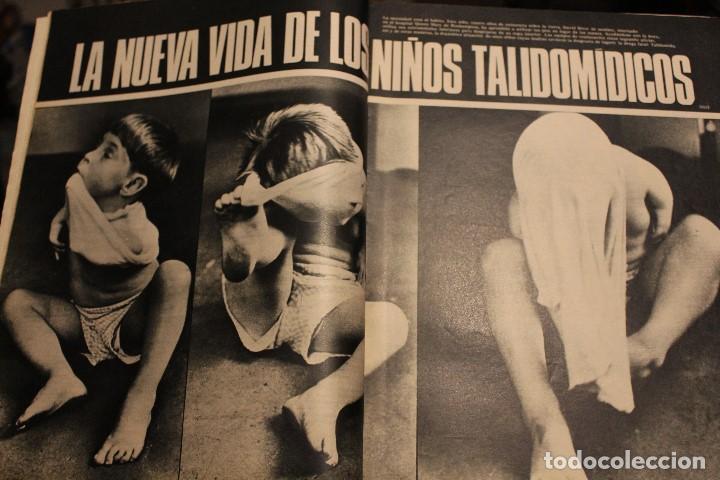 Coleccionismo de Revista Gaceta Ilustrada: GACETA ILUSTRADA 552 AÑO 1967 STALIN TALIDOMIDA LEE PAOLI CANCER ESPIA ESCOMBRERAS PETROLEO AUTO - Foto 9 - 202101587