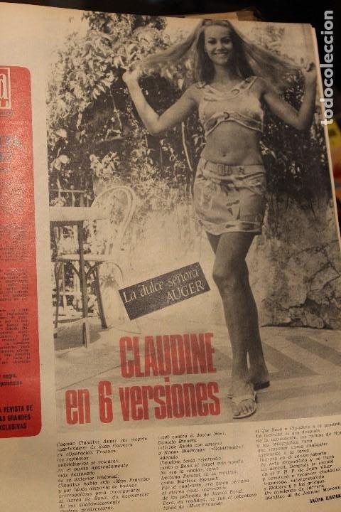 Coleccionismo de Revista Gaceta Ilustrada: GACETA ILUSTRADA 573 AÑO 1967 STALIN CHINA MAURICE CHEVALIER AUGER AMERICANOS RUSIA - Foto 6 - 202104648